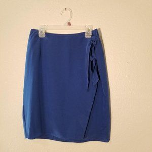Hugo Buscati Milano Wrap Skirt Silk Size 6 Women's